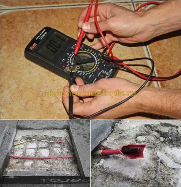 Ремонтируем электрический или водяной тёплый пол своими руками