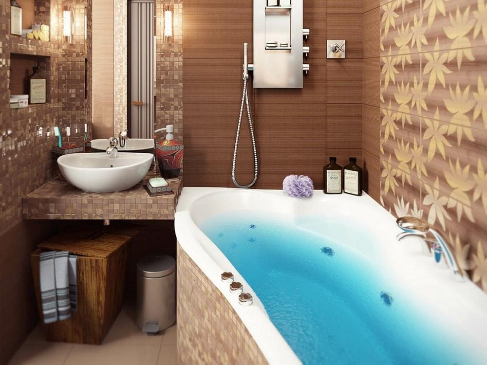 дизайн ванной комнаты 2 на 2 метра
