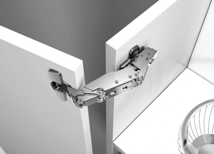 Мебельные петли для шкафов: разновидности фурнитуры для дверей