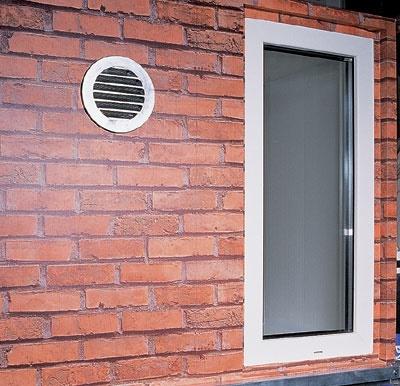 Вытяжная вентиляция через стену на улицу - клуб мастеров