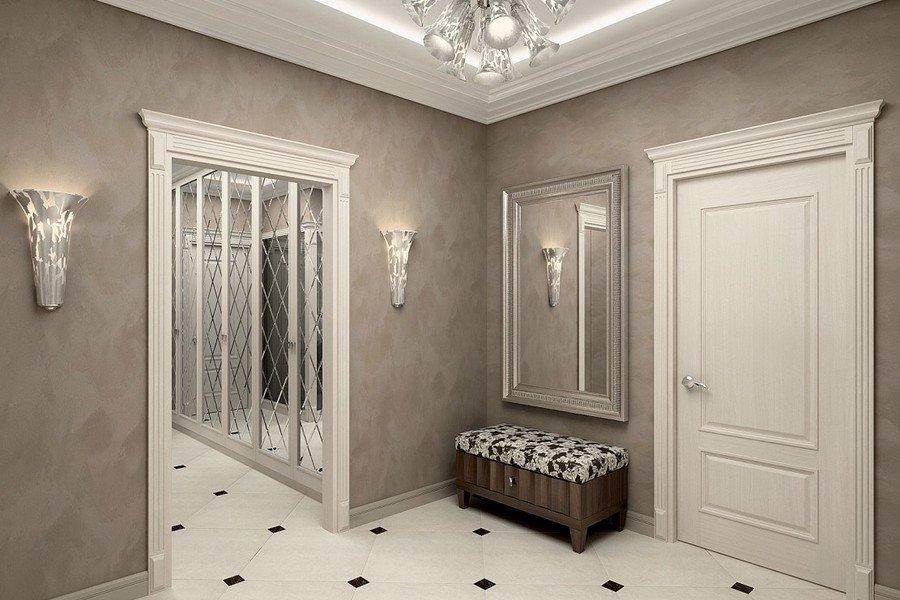 каким цветом покрасить стены в коридоре