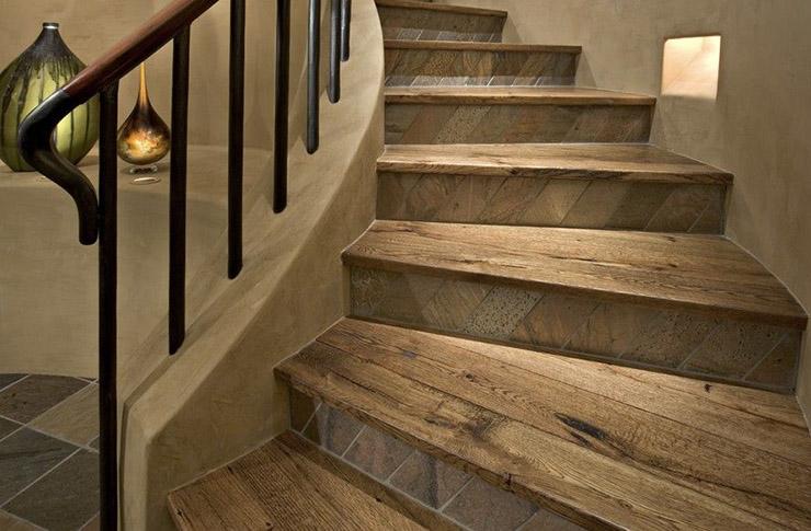 ступени из керамогранита для лестниц