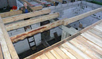 Деревянный двутавр — прочная основа конструкции дома