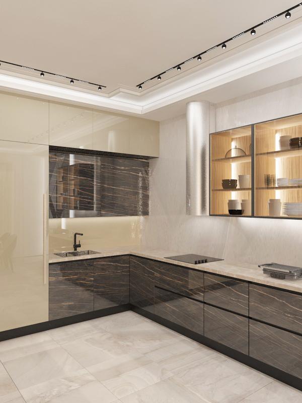 стильные кухонные гарнитуры