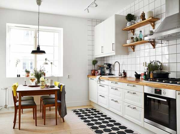 Кухня в скандинавском стиле: интерьер, фото, особенности оформления