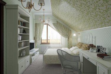 Спальня в мансарде: удивительное место для романтического дизайна | дом мечты