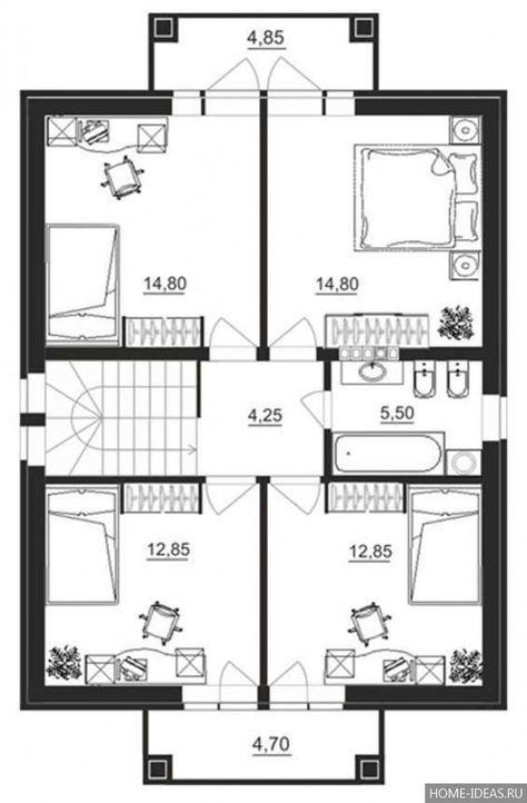 проект дома 6 на 12