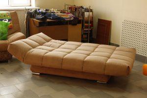 Размеры диванов с системой «клик-кляк»