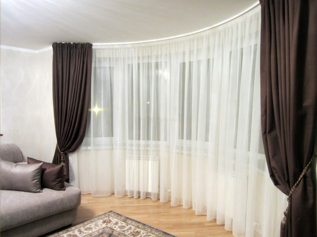 Тюль сетка: 110 фото стильных и модных идей украшения окна