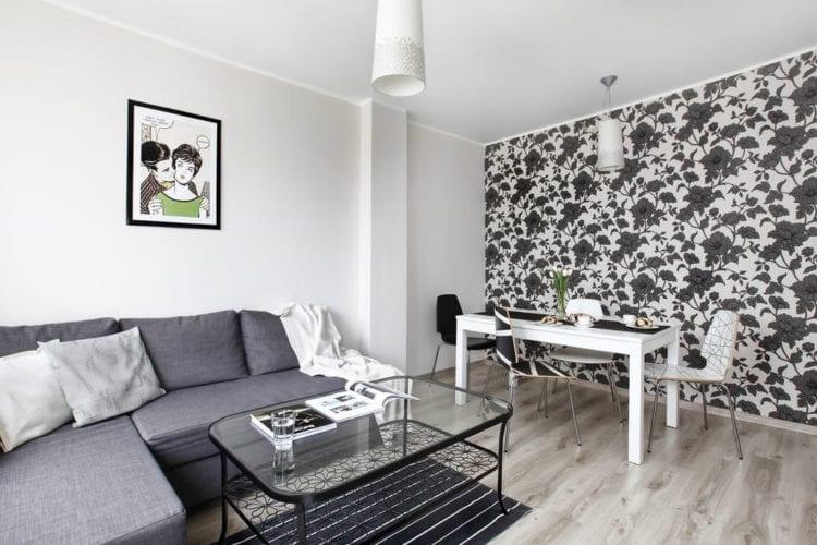 Черно-белый интерьер (76 фото): особенности стиля, выбор фотообоев для стен в черно-белых тонах. оформление спальни, гостиной и других комнат в квартире