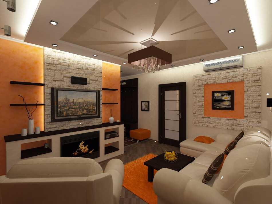 Дизайн двухкомнатной квартиры 50 кв. м: создаем простор икомфорт
