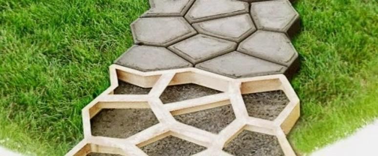 Дорожки в саду своими руками из бетона и старой плитки - огород, сад, балкон - медиаплатформа миртесен