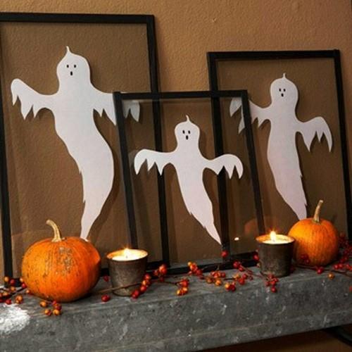 комната в стиле хэллоуин