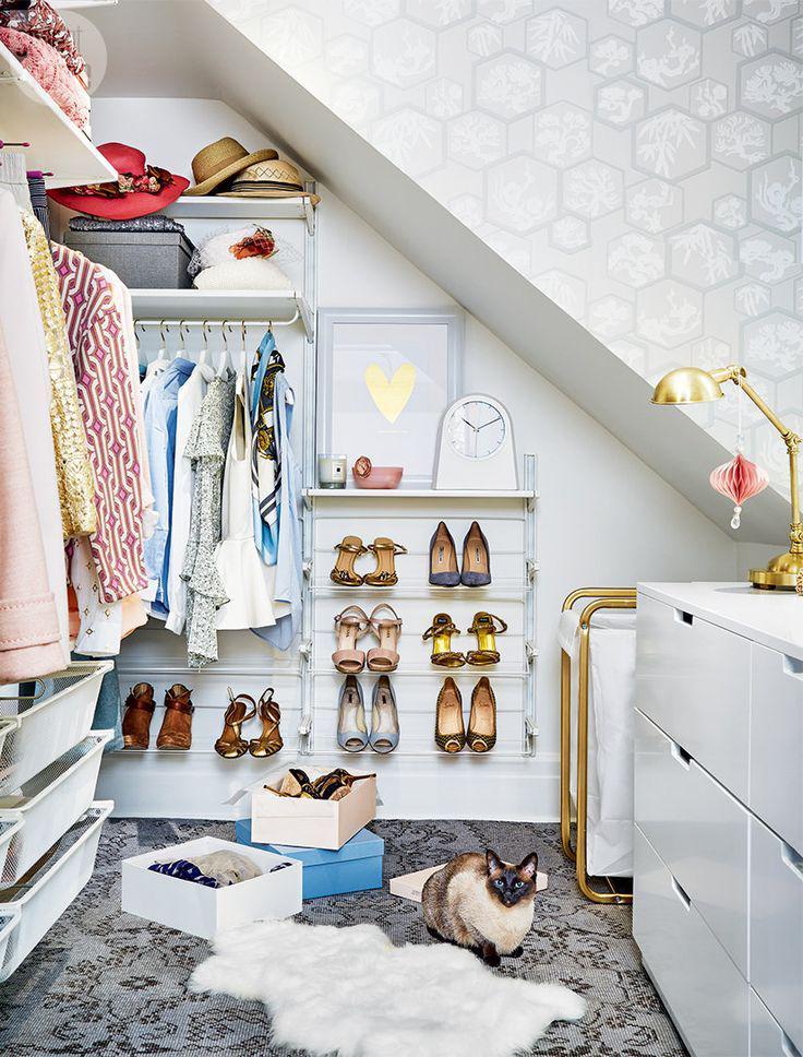 Виды гардеробных систем хранения и варианты их оборудования  +62 фото
