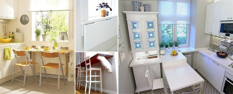 кухонные гарнитуры для маленькой кухни прямые