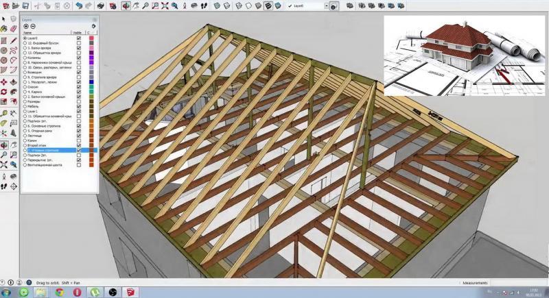 Стропильная система вальмовой крыши: калькулятор стропильной системы вальмовой крыши