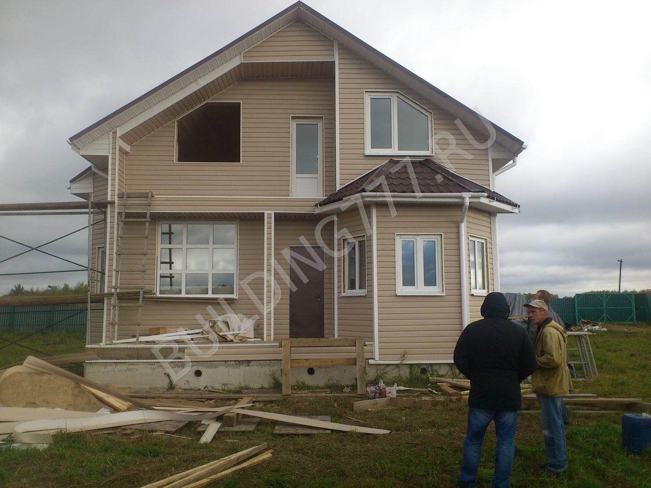 строительство дома цена