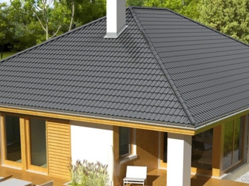 Оптимальная высота вальмовой крыши одноэтажного дома