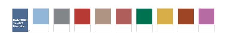 Модные цвета panton весна - лето 2020 -