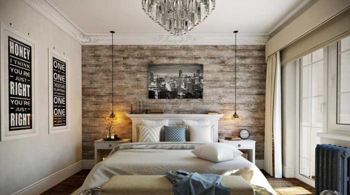 Реальный дизайн спальни 13 кв м — фото интерьеров