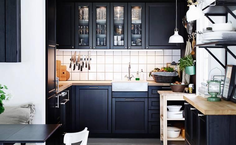 Выбираем стильные фасады для кухни в магазине икеа