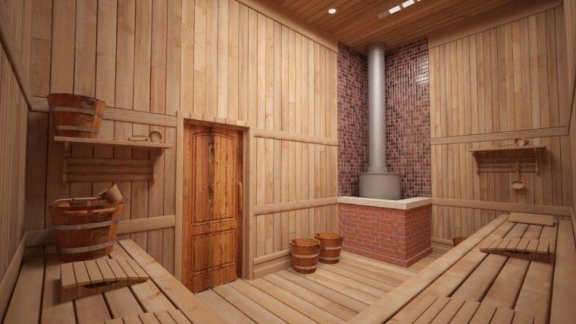 современные бани
