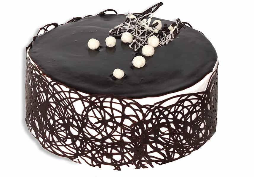 как просто украсить торт