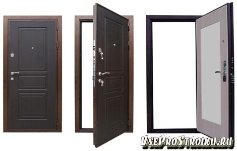 Размеры входной двери в частном доме