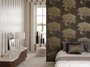 Коричневая мебель в интерьере разных комнат: возможные варианты (51 фото)