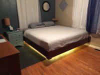 Парящая кровать своими руками: из дерева, из металла, дизайн, фото