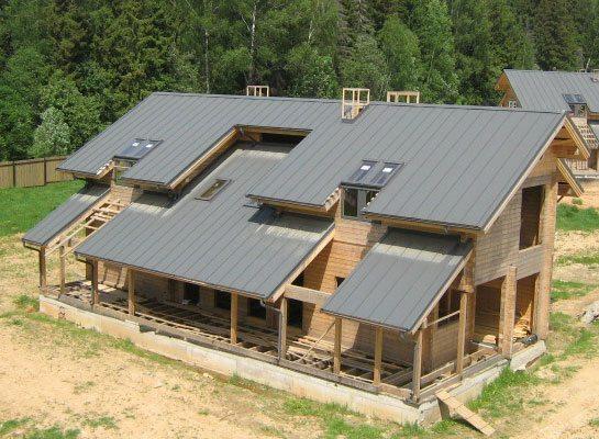 фальцевая крыша