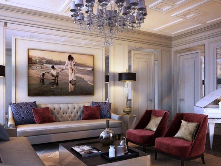 Мебель для зала в квартире, фото самых удачных проектов