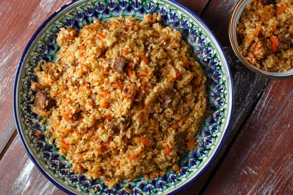 Плов в казане на костре: как приготовить, рецепты, какой нужен рис, сколько варить