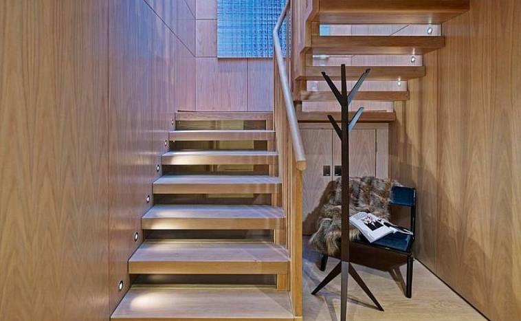 Способы освещения лестниц — светильники и датчики