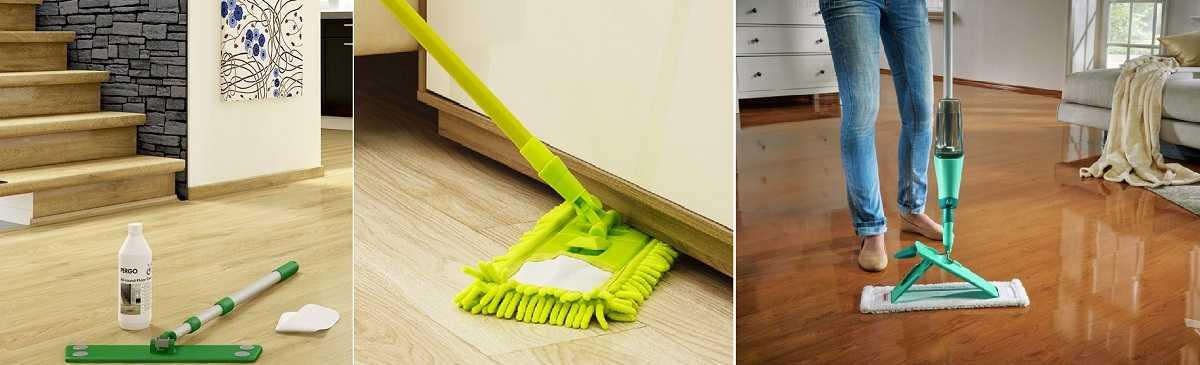 Чем мыть ламинат - лучшие советы для идеальной чистоты и блеска