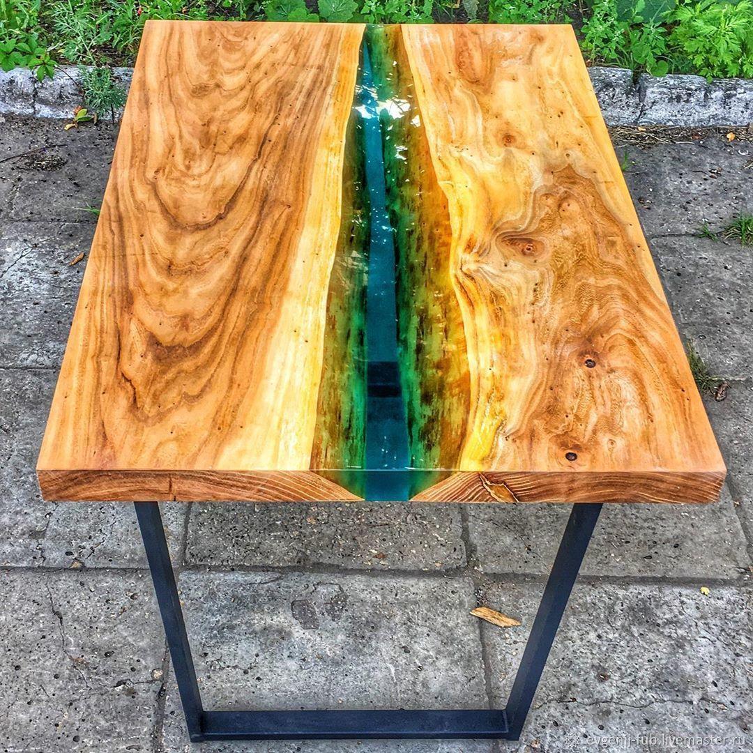Делаем стол из эпоксидной смолы своими руками +50 фото пошагово