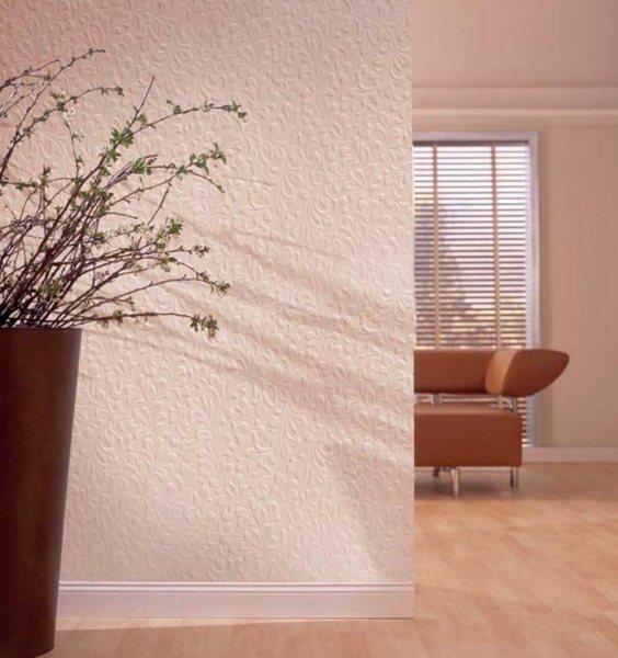Обои под покраску (189 фото): плюсы и минусы этих покрытий стен и потолка, флизелиновые и виниловые варианты в интерьере, отзывы и рекомендации