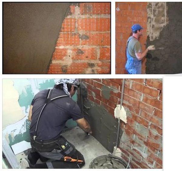 Высококачественная штукатурка стен и потолков