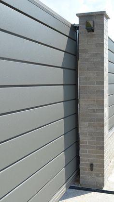 Забор жалюзи своими руками: жалюзийное ограждение из ламелей, фото штакетника