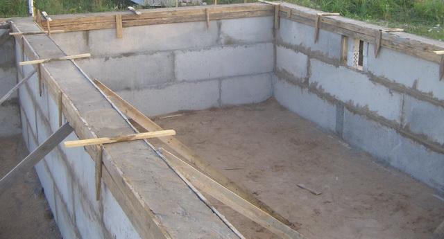 Фундамент с цокольным этажом: этапы возведения