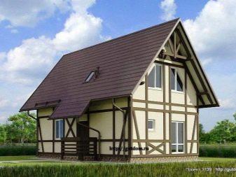 Проекты и планировки жилых домов 6 на 9 метров для строительства в москве: фото и видео