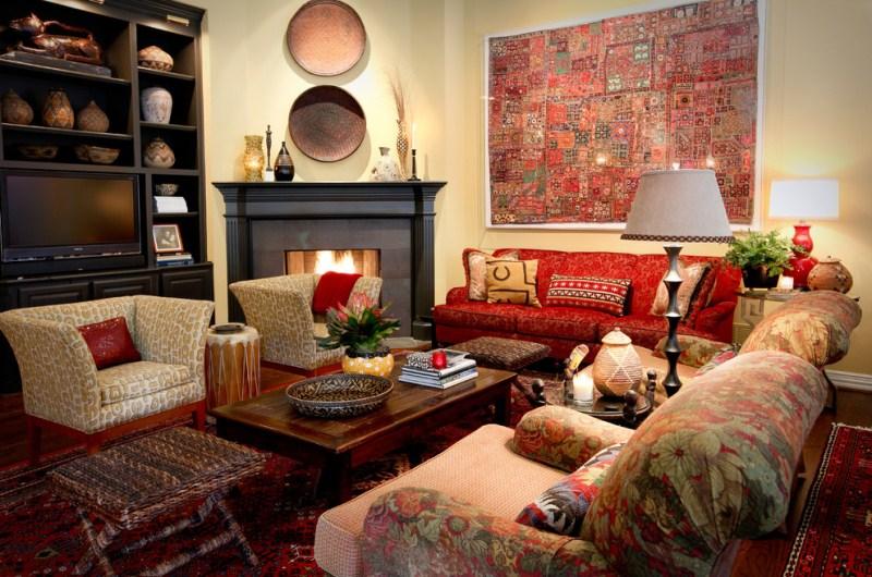 Спальня в восточном стиле: основные принципы оформления и необходимые элементы интерьера, фото