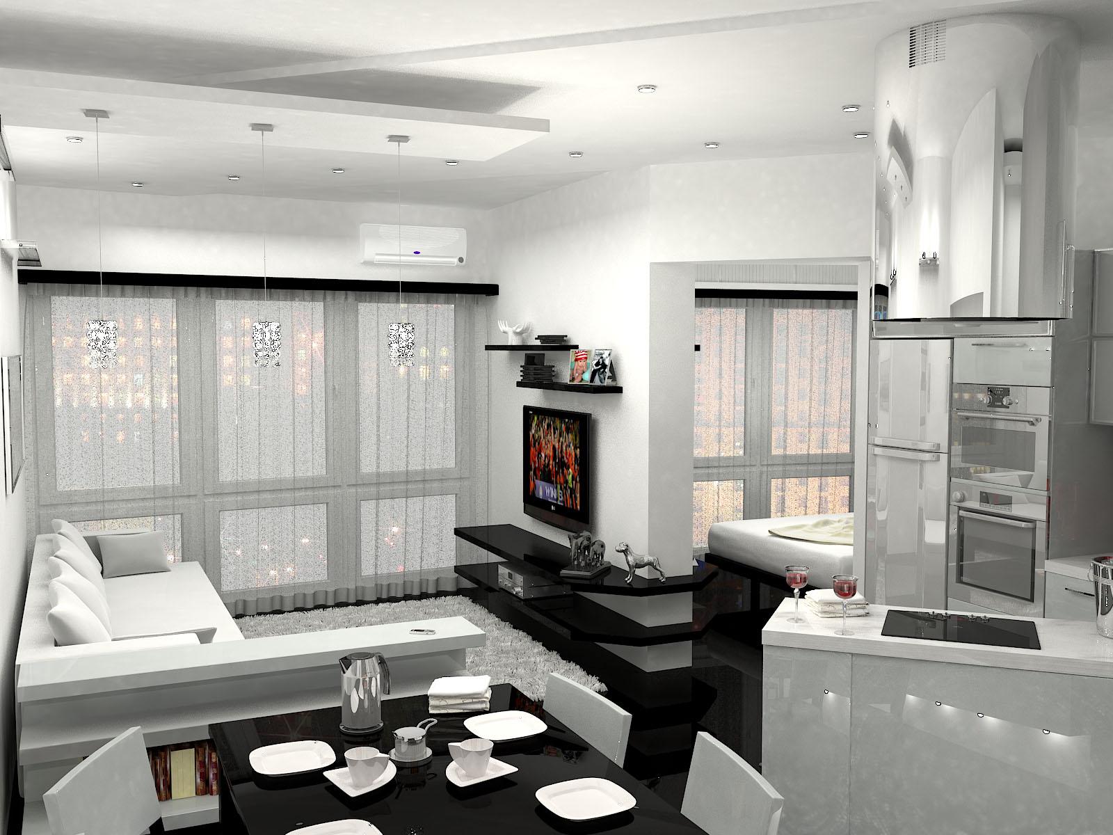 хрущевка 1 комнатная дизайн