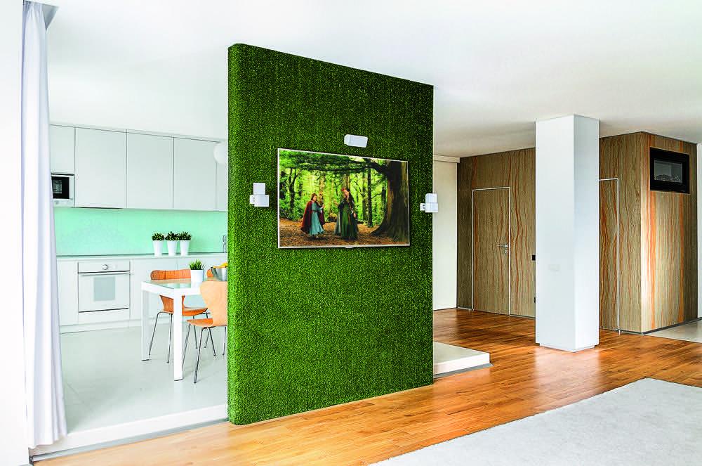 Перегородки для зонирования пространства в комнате: от простых до дизайнерских