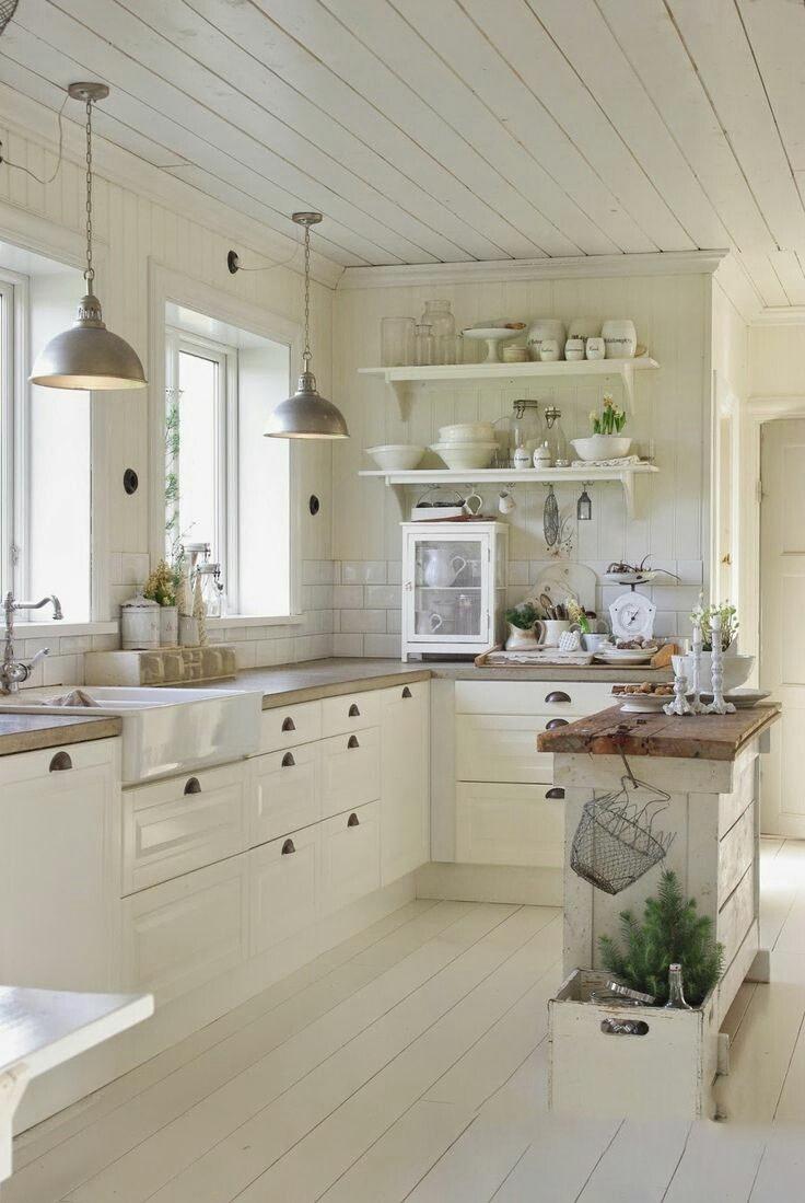 Воздушная и легкая кухня в стиле прованс. учимся оформлять интерьер правильно