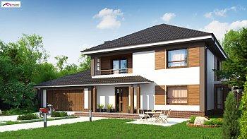 Двухэтажные дачные дома: проекты и примеры