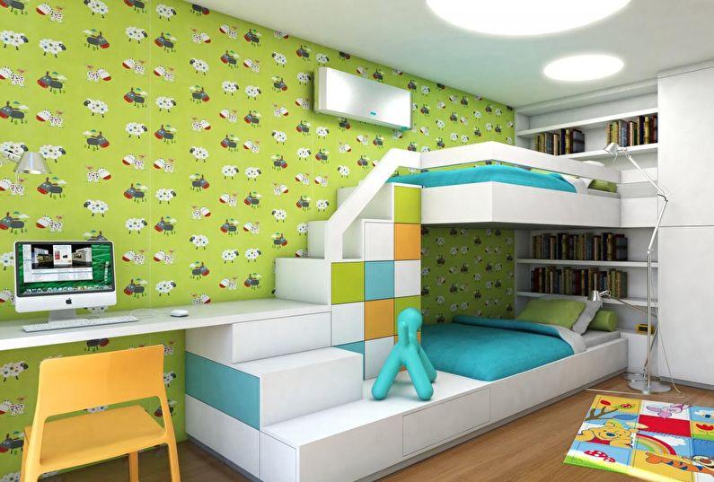 Кровать для троих детей: а так можно?