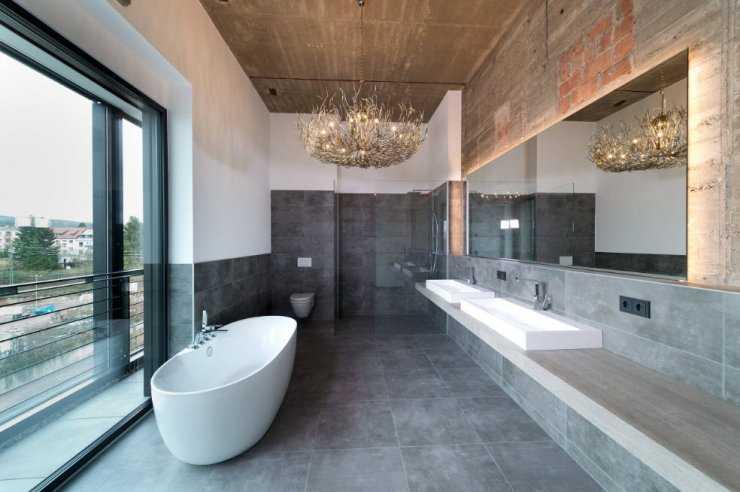 Дизайн ванной в светлых тонах: 40 фото, современный стиль