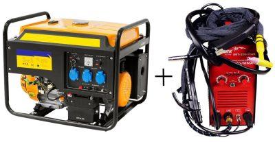 Бензиновый генератор для сварочного аппарата переносной: модели