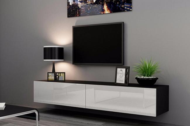 Тумба под телевизор в современном стиле: фото, оснащение, правила выбора